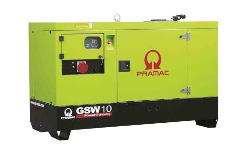Дизель-генератор PRAMAC GSW10P от ЭлекТрейд