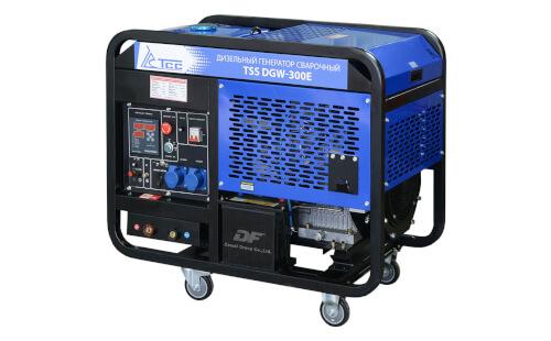 Сварочный электрогенератор ТСС DGW-300E с гарантией