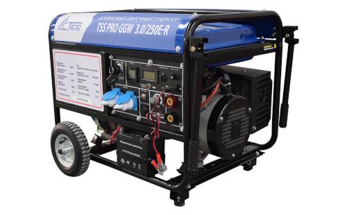 Сварочный электрогенератор ТСС PRO GGW 3.0/250E-R с гарантией